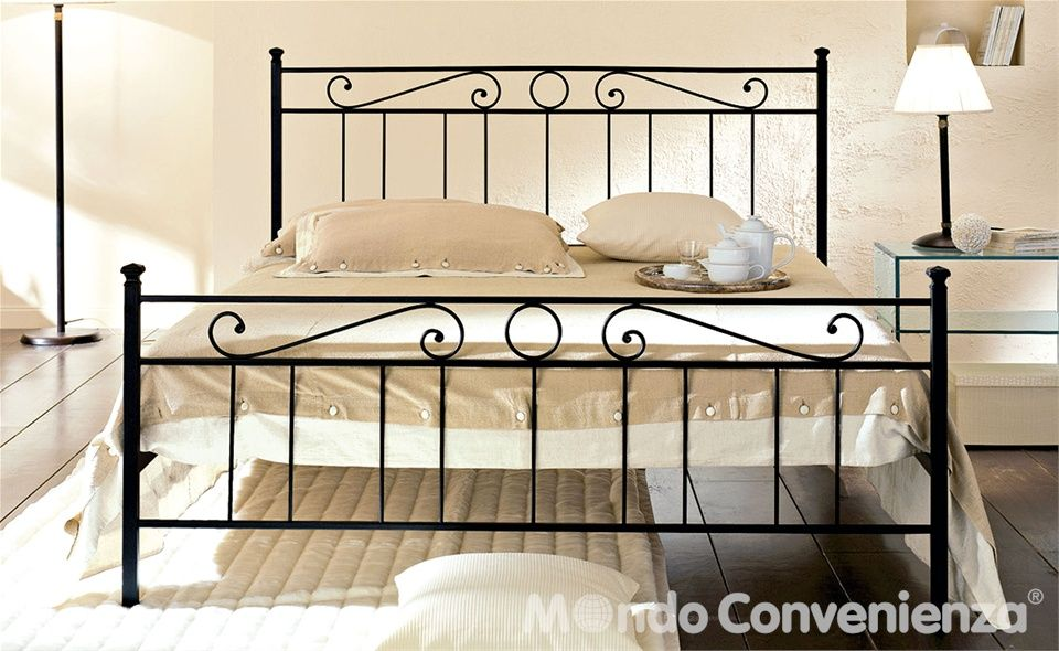Letto tevere mondo convenienza furnish low cost for Letto sommier mondo convenienza