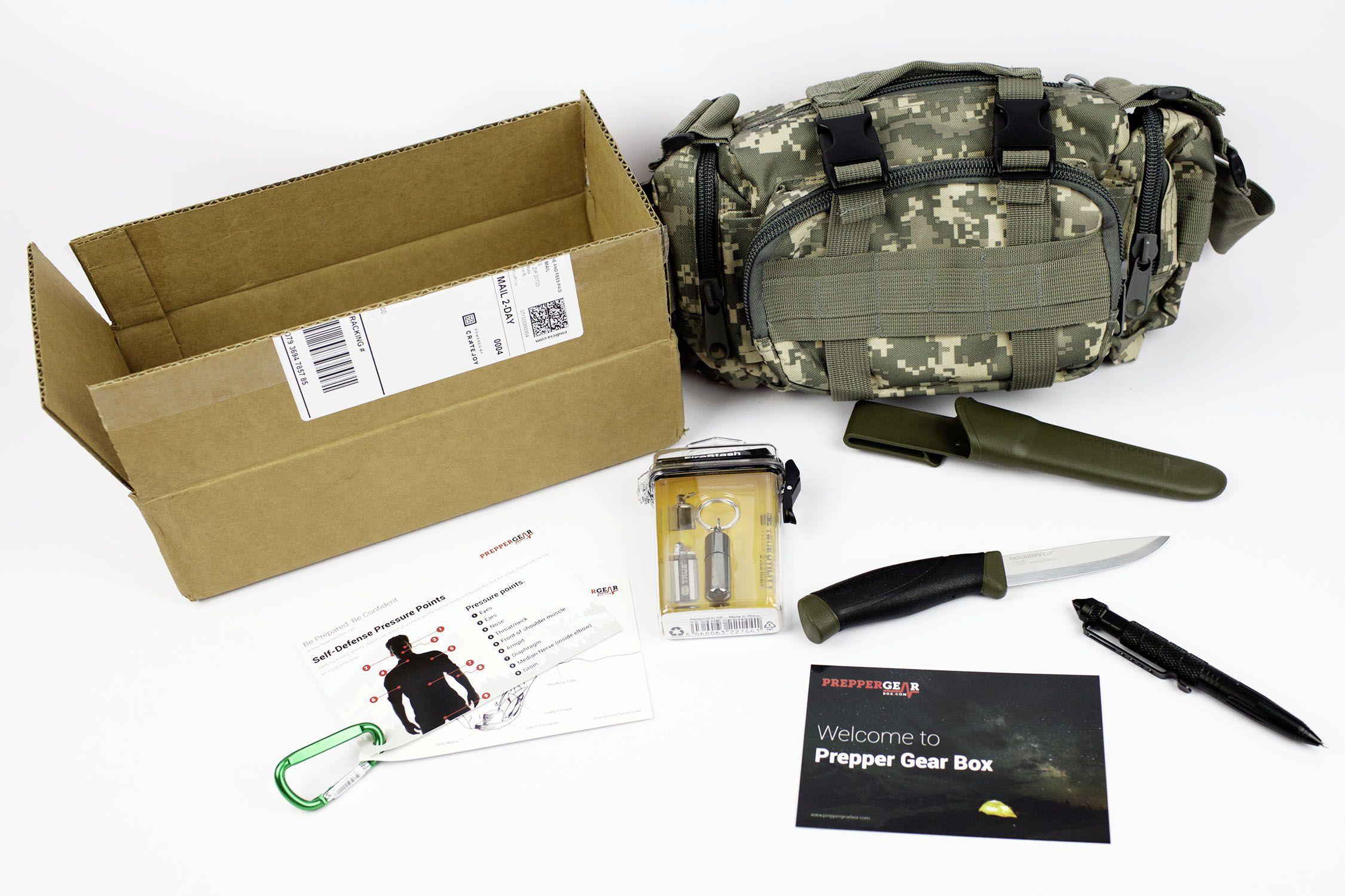 Prepper Gear Box - September 2015