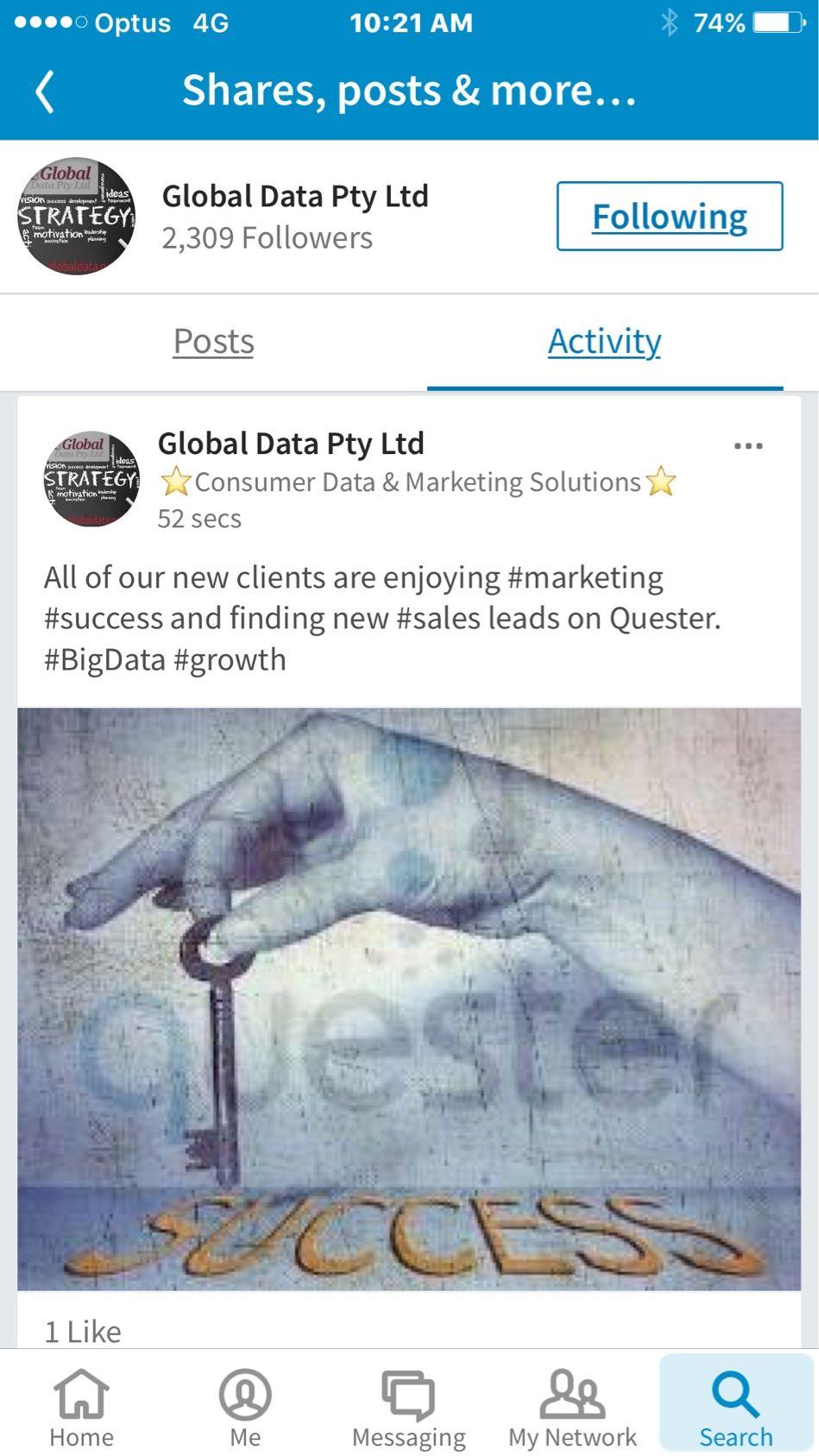 Globaldata Aussie Datasupplier B2C B2B sales Leads