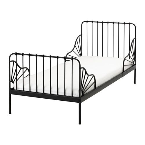 Ikea Minnen Ext Bed Frame With Slatted Base Extendable So It Can Be Pulled Out As Your Child Grows