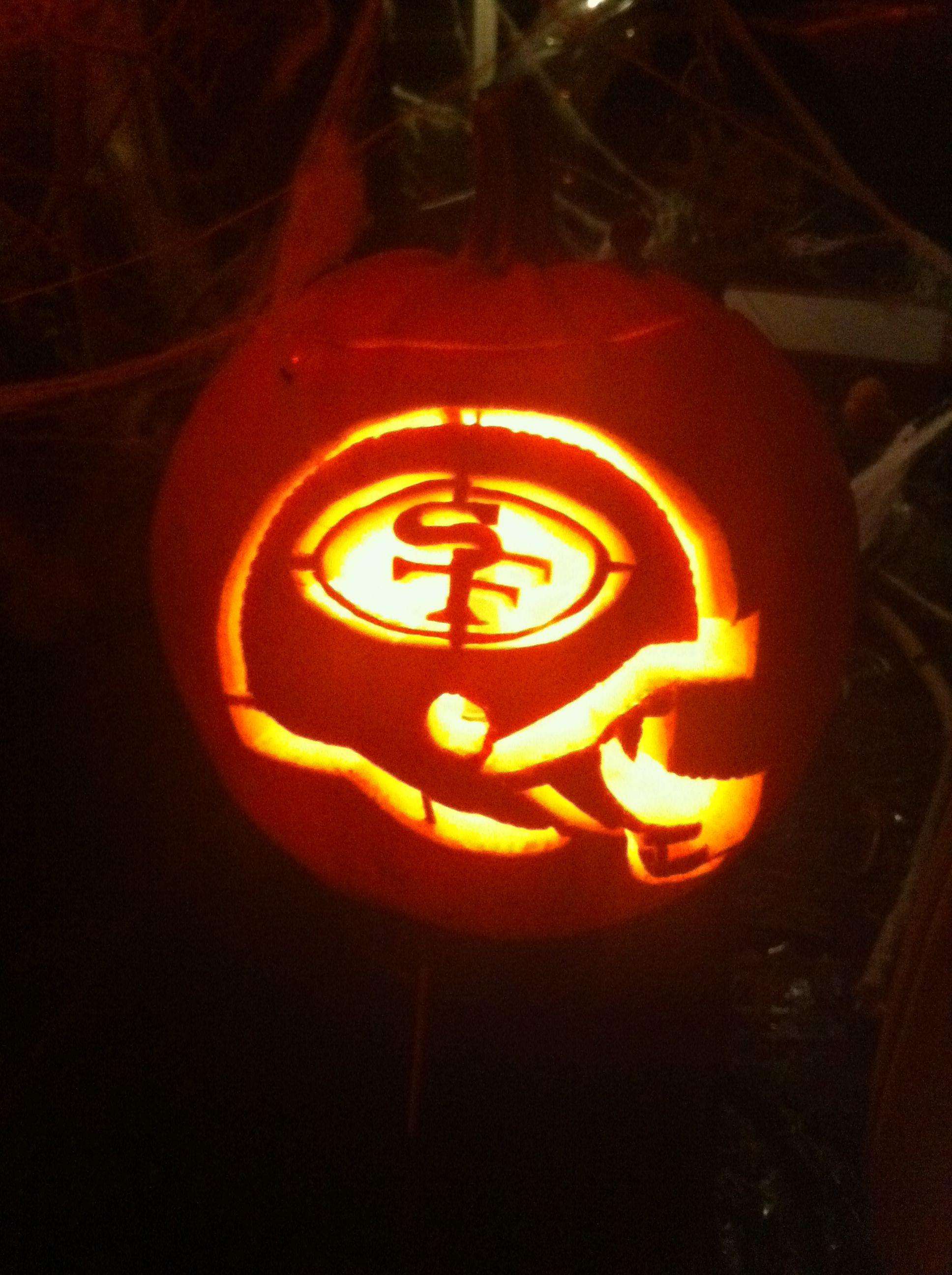 49ers pumpkin template  Gooo Niners! every year, i carve Sf Giants or Sf 5ers ...