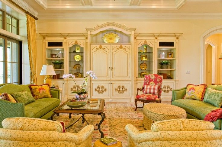 appealing french country style living room | french country living room | French Country | French ...