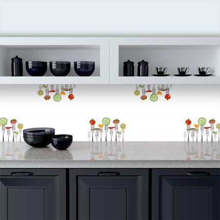 Küchenrückwand aus Glas Gabeltanz Design Küchenrückwände Pinterest - glas küchenrückwand fliesenspiegel