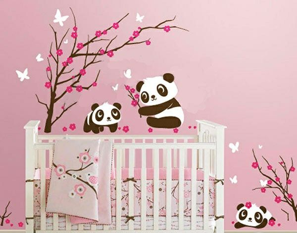 babyzimmer wandgestaltung 15 wanddeko ideen mit tieren kinderzimmer pinterest. Black Bedroom Furniture Sets. Home Design Ideas