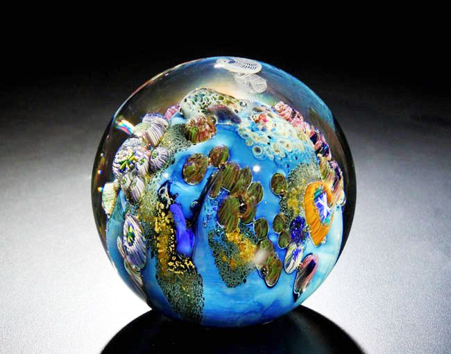 Josh Simpson is a master glass artist who has been ...