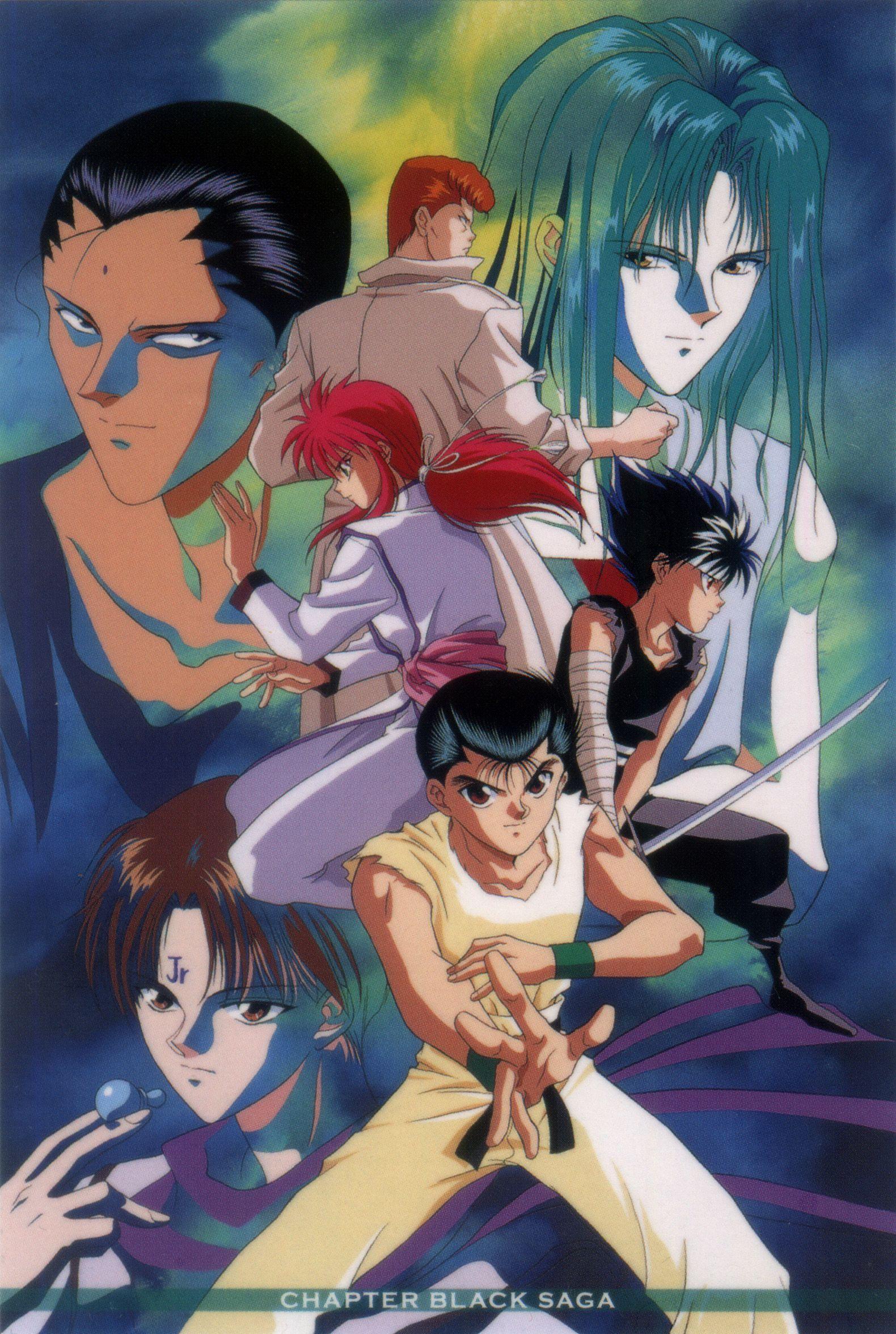 1580x2351 (100) Yuyu hakusho, Anime, Hiei