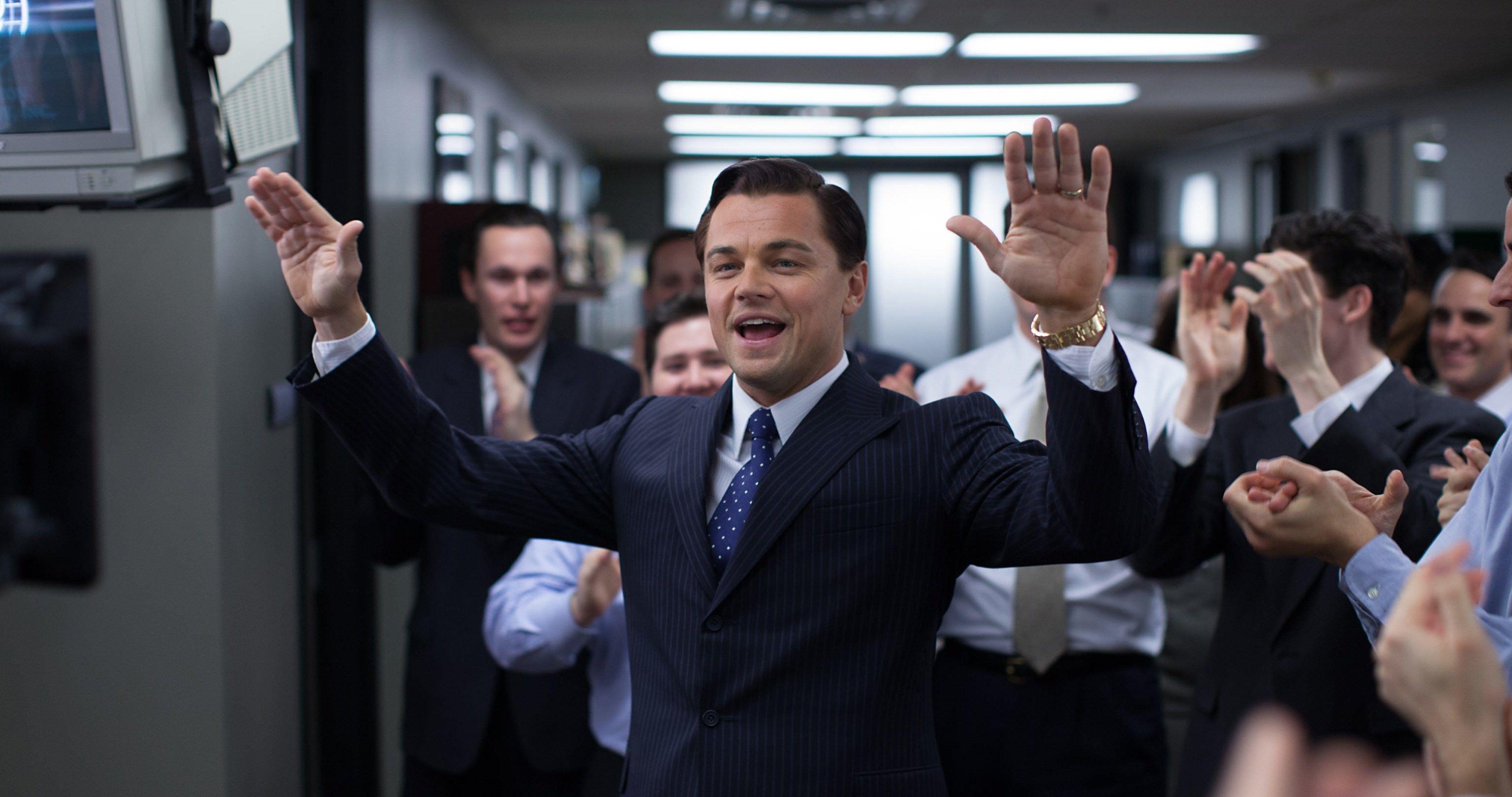 The Wolf Of Wall Street Leonardo Dicaprio 4k Ultra Hd Wallpaper Wolf Of Wall Street Wall Street Leonardo Dicaprio