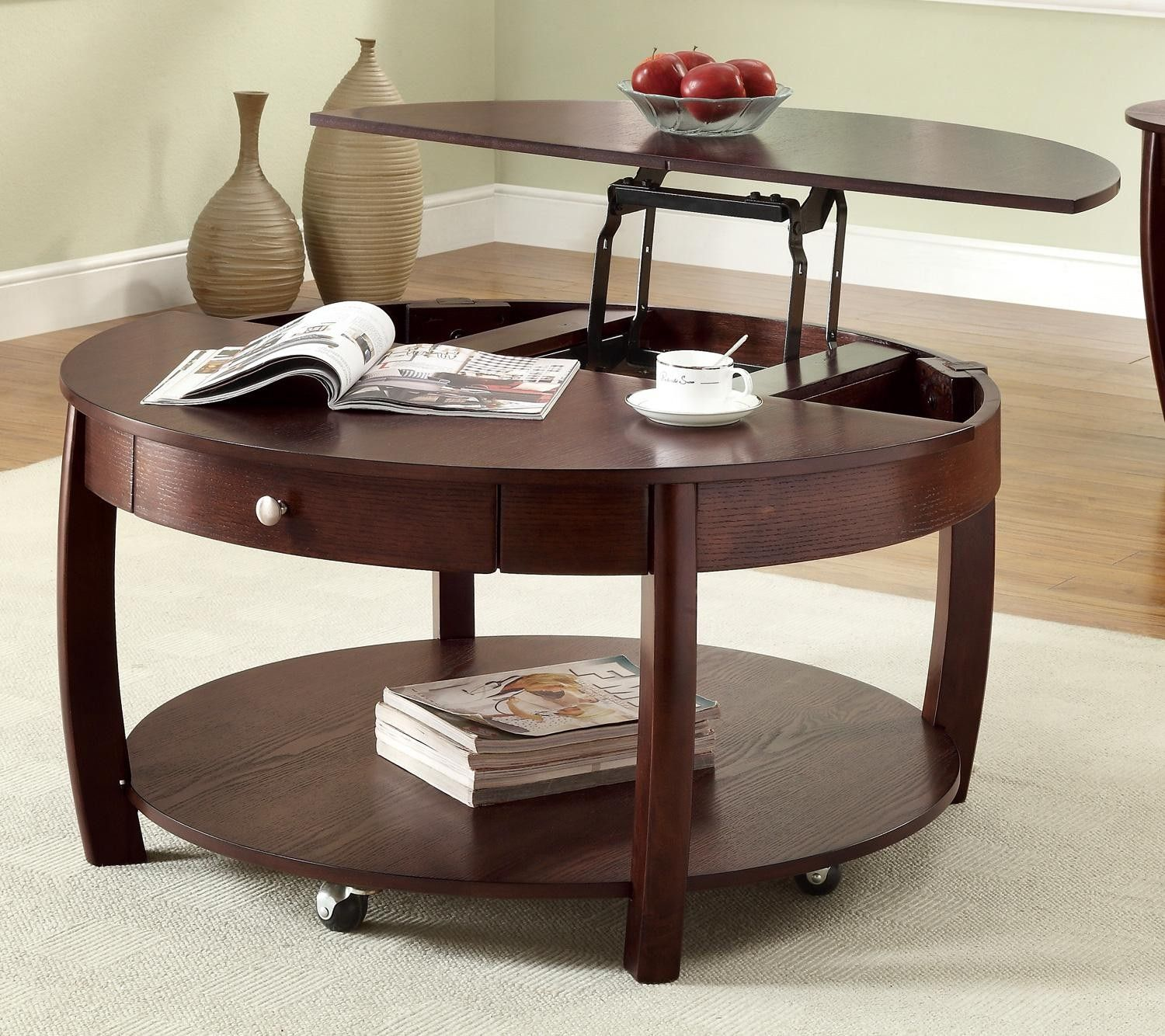 Narrow Lift Top Coffee Table.Round Glass Top Coffee Tables Charming Narrow Coffee Tables Aand End