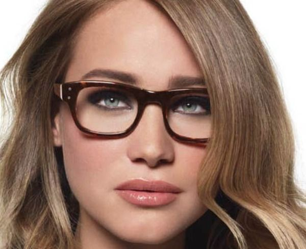 Bobbi Brown's Makeup Tips for Glasses-- This helped me so much! My eyes always disappeared or looked grossly gigantic when I wore glasses before reading this.