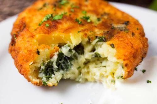 Mashed Potato Pancakes #potatopancakesfrommashedpotatoes