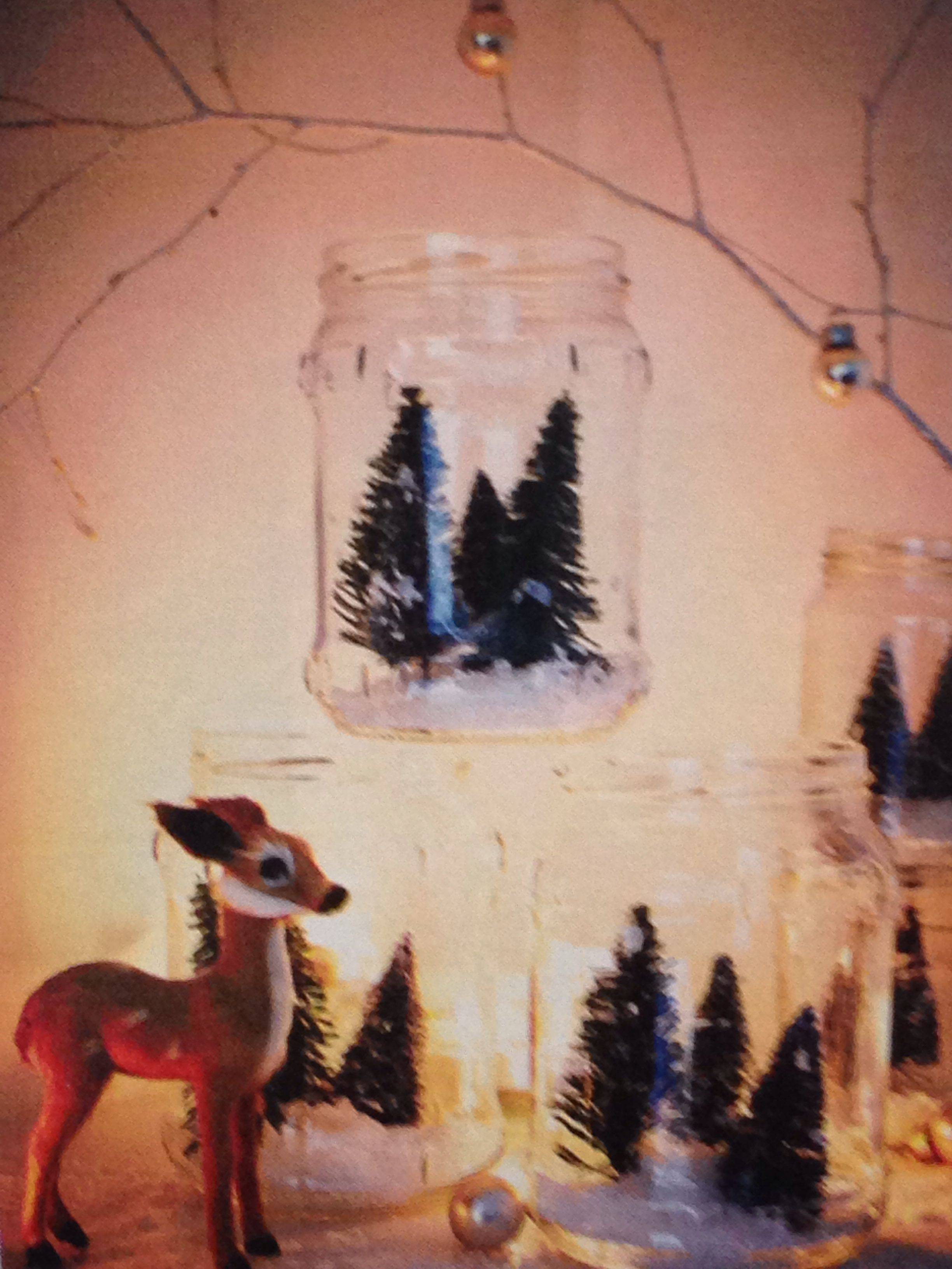Snow globe ideas