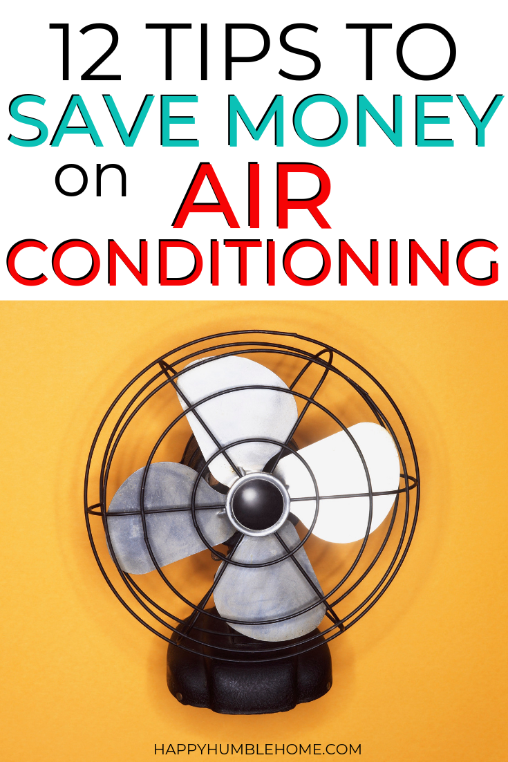 How to Save Money on Air Conditioning (With images