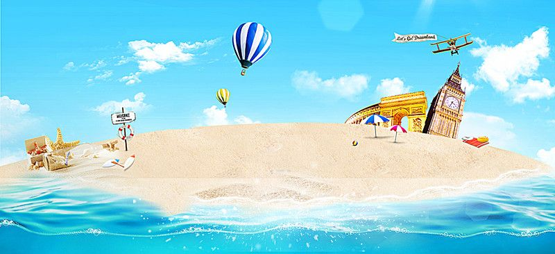 Summer beach background summer sandy beach ocean background summer beach background summer sandy beach ocean background image voltagebd Choice Image