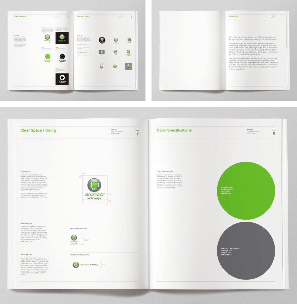 Android Brand Identity By Character Brand Identity Guidelines Brand Guidelines Brand Guide