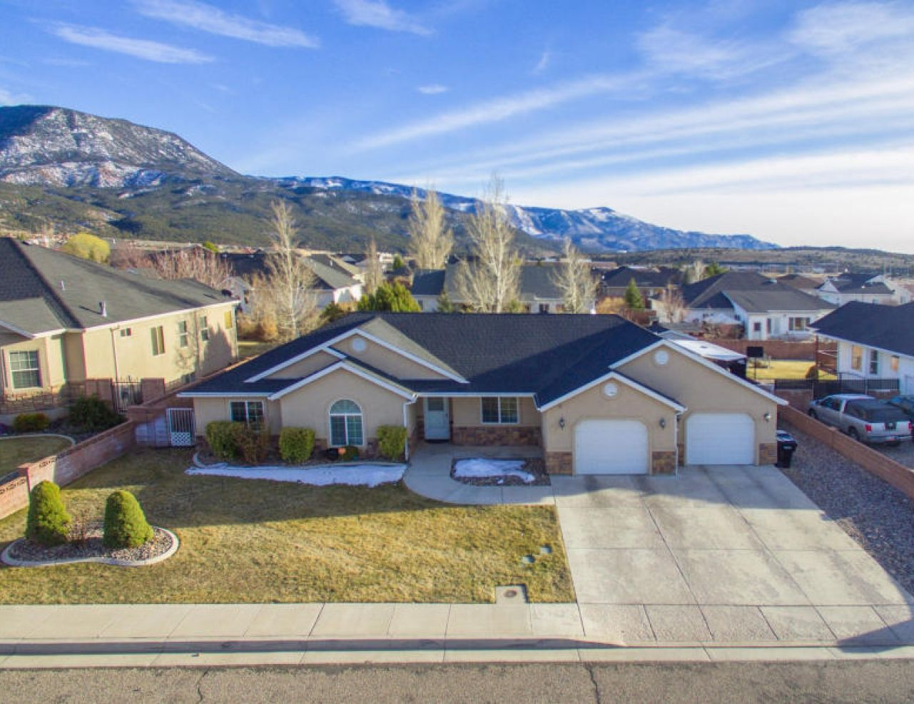 Just listed home for sale in Cedar City, Utah. Located on