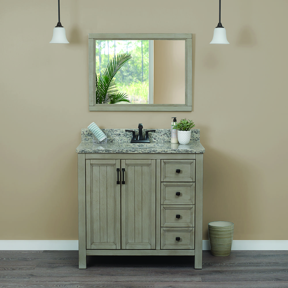 Bring farmhouse style into your bathroom with the hiland