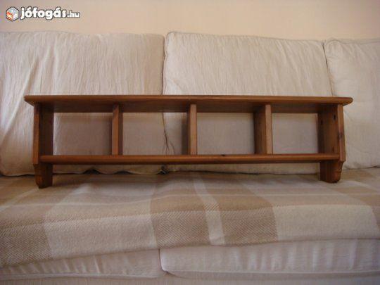 Ikea leksvik antik pácos könyves polc új állapotban olcsón eladó ...
