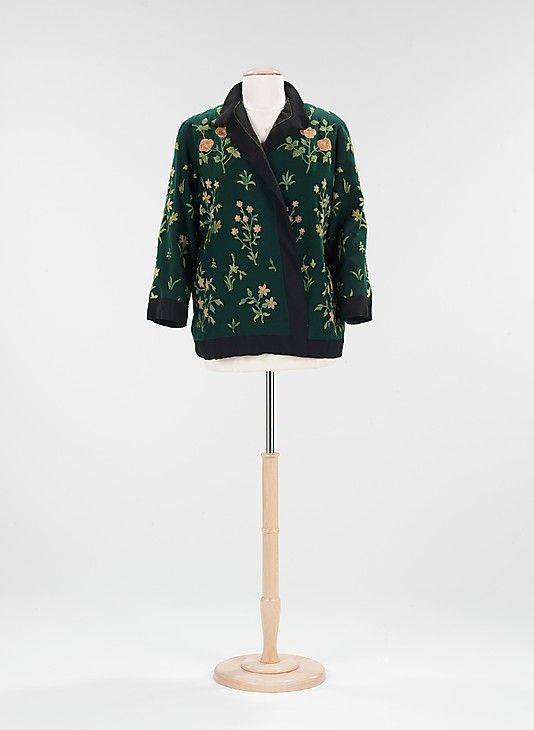 Jacket Attributed to Paul Poiret  Date: 1924 Culture: French Medium: wool, cotton Accession Number: 2009.300.560