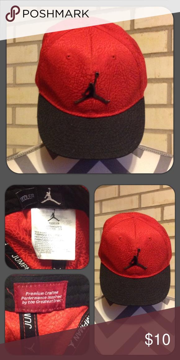 57acfd6ef0e Toddler jump man Jordan hat with adjustable snap back closure. Jordan  Accessories Hats