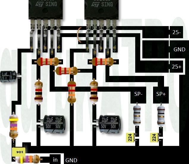 Power Amplifier TDA 2050 bisa sub woofer | guruKATRO ...