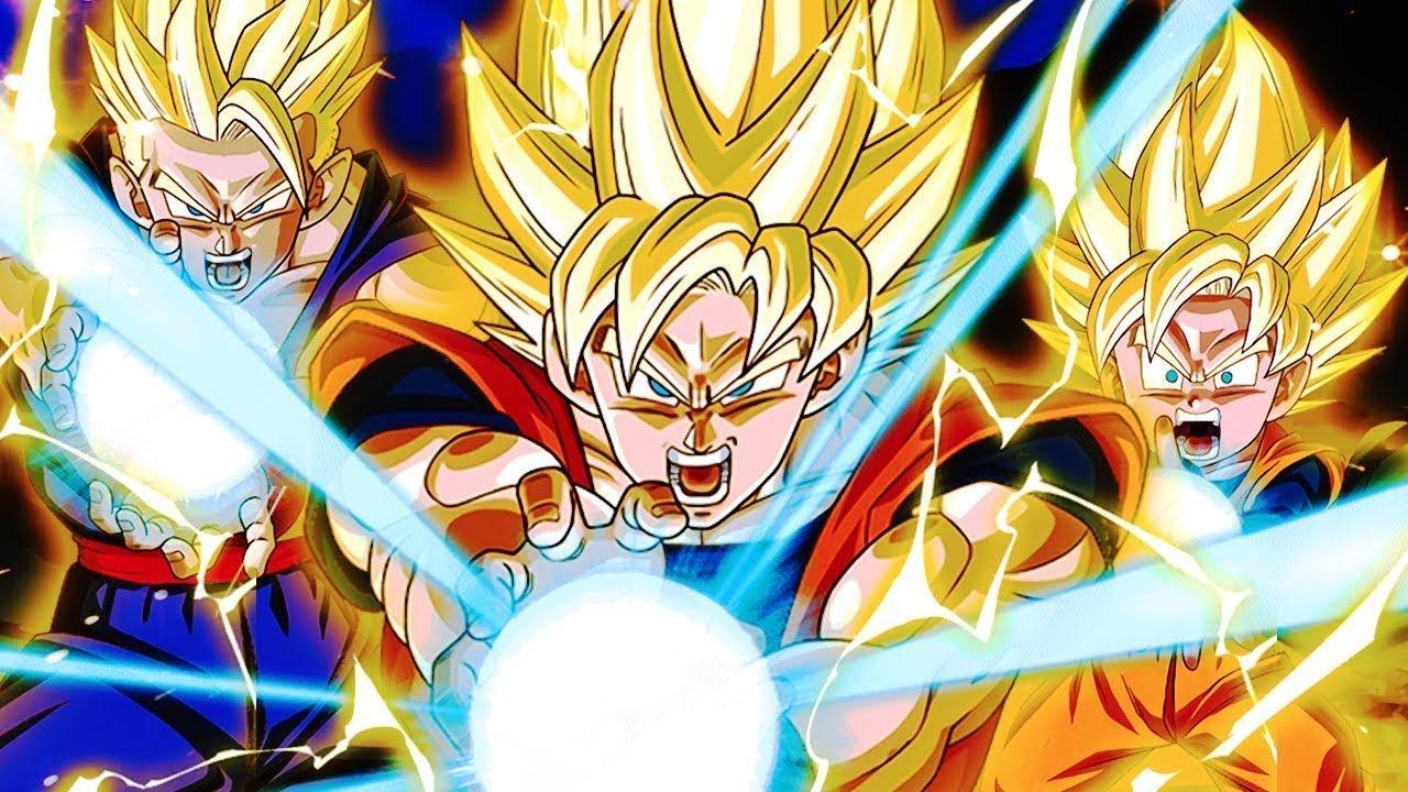 Use Every Ounce Of Power You Ve Got In You Lr Family Kamehameha Dbz D Animasi Saga