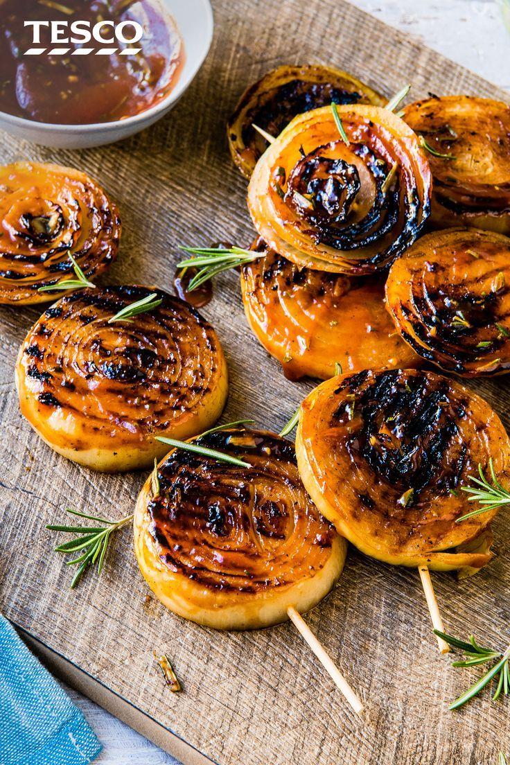 BBQ Onion Steaks | Vegetarian BBQ | Tesco Real Food