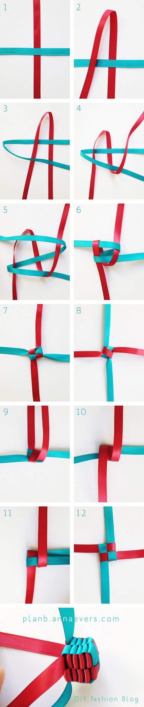 Diy Cube Braid I Never N Knew How To Start It Fun Crafts Ribbon Crafts Cute Crafts