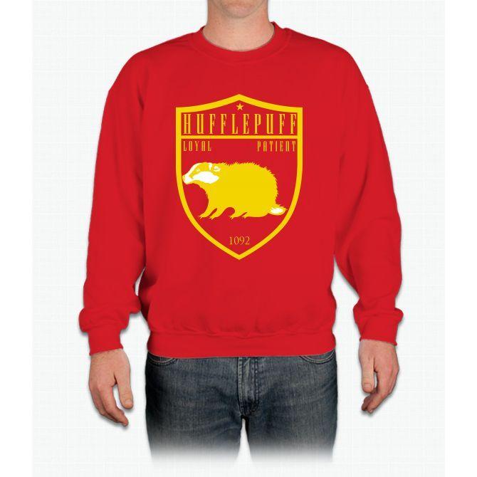 Go Badgers Harry Potter Crewneck Sweatshirt