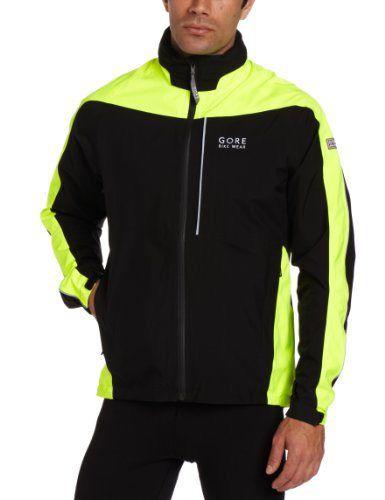 Gore Bike Wear Men s Countdown Gore-Tex Jacket (Black Neon Yellow 43fad746d