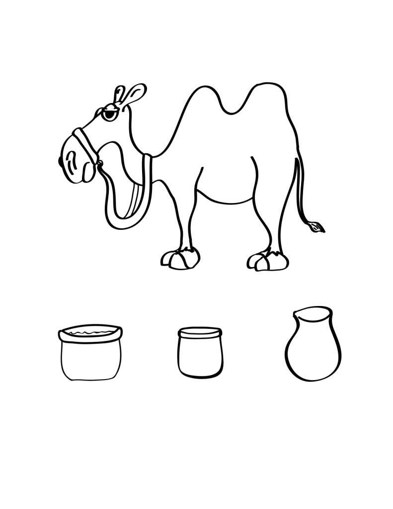 camello para pintar | Abram | Pinterest | Pintar y Navidad