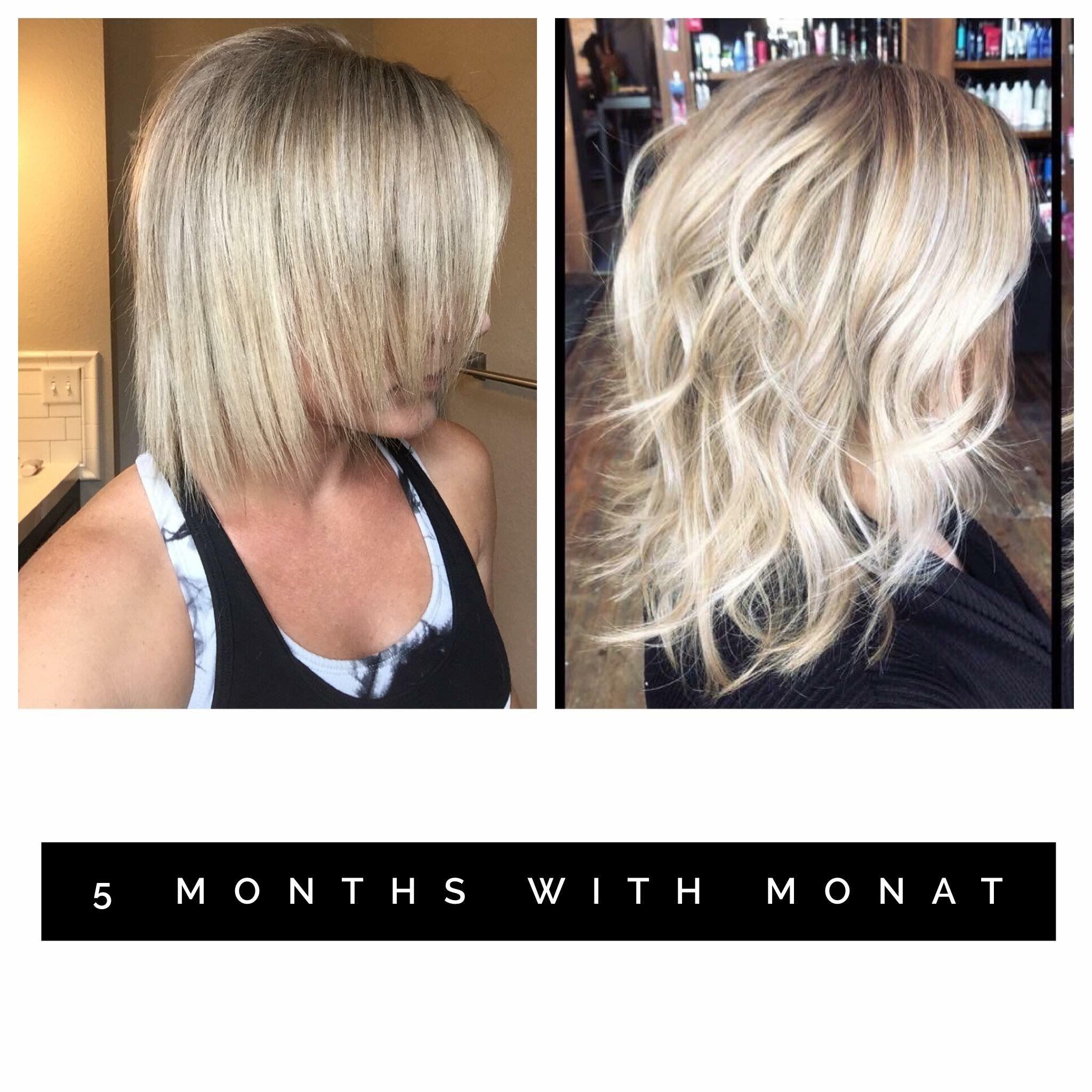 Monat hair, Hair treatment