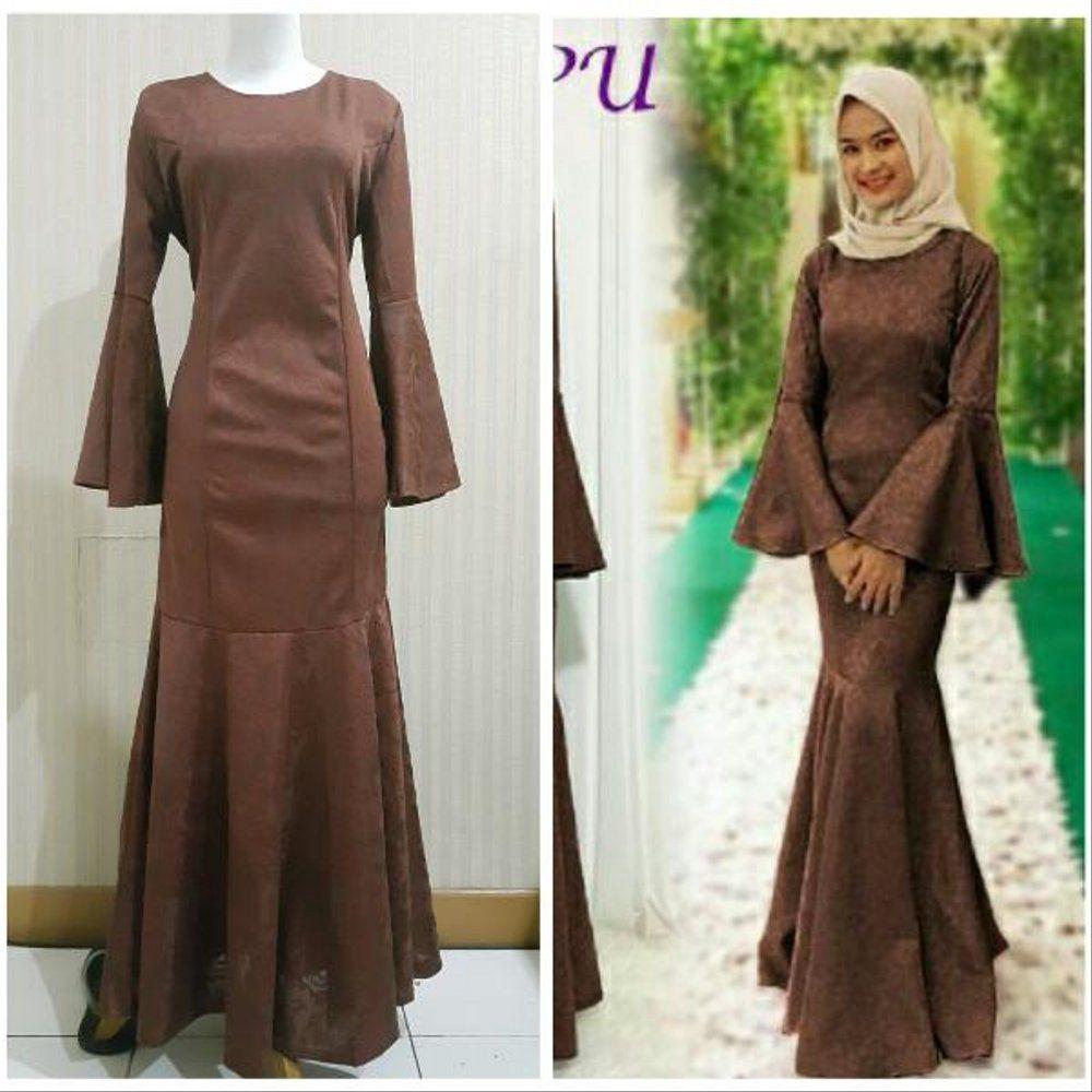 Model Baju Gamis Duyung  Pakaian wanita, Model, Wanita
