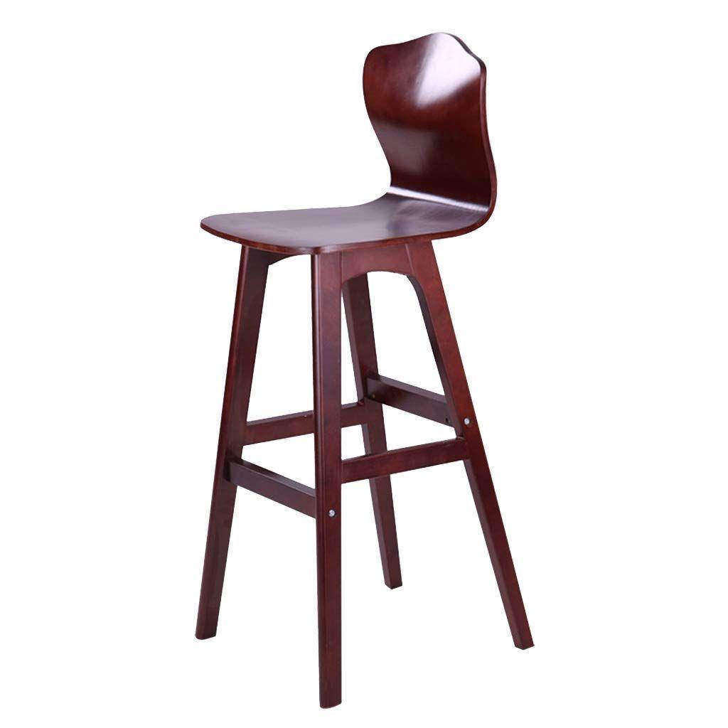 Chuan Han Chair Footstool Ergonomic Back Birch Wooden Seat Kitchen