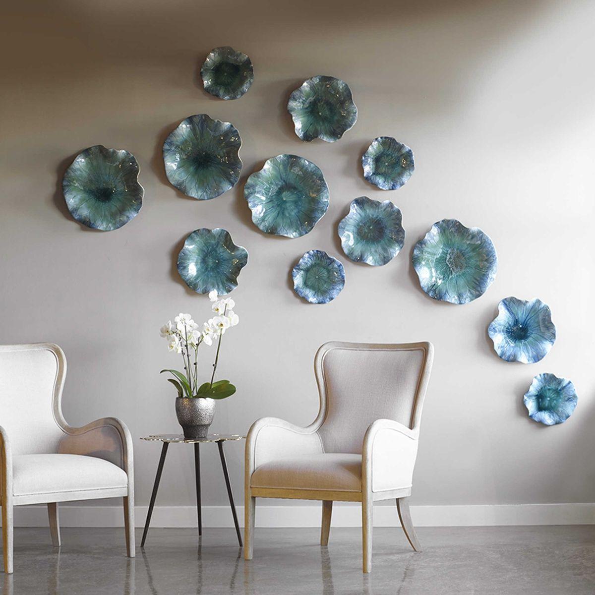 Uttermost Abella Ceramic Wall Decor S 3