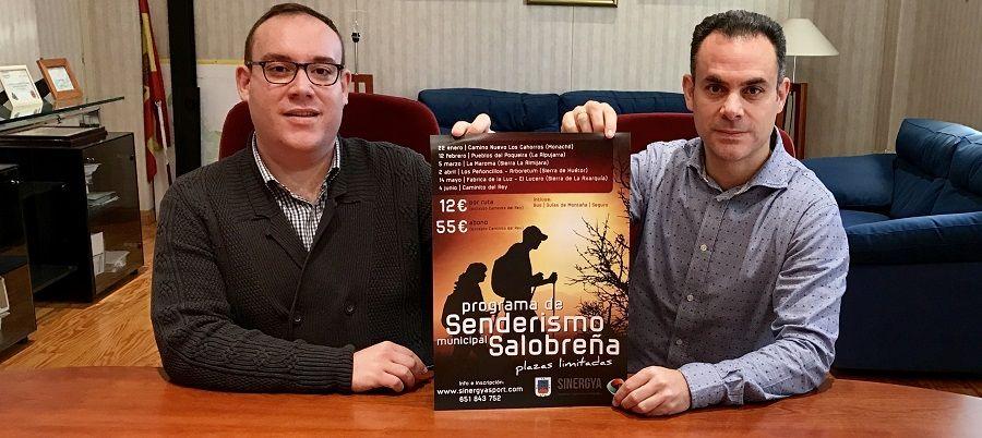 SALOBREÑA. El domingo, 22 de enero, comienza el Programa Municipal de Senderismo 2017, que incluye seis rutas por las provincias de Granada y Málaga.