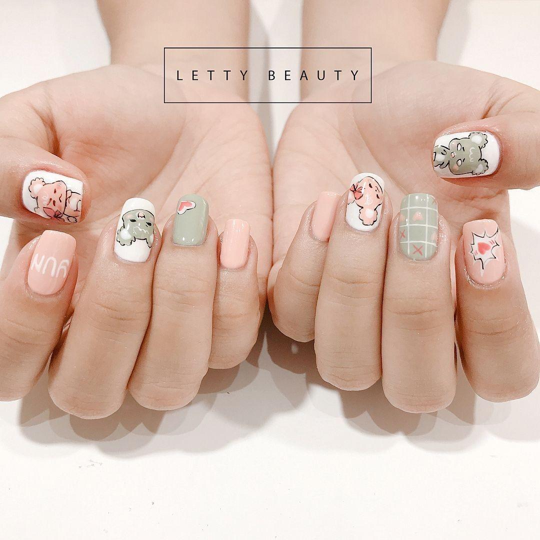 Nails Beauty trong 2020 (Có hình ảnh)   Nail swag, Móng