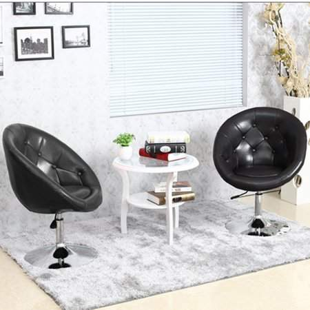 Remarkable Tryif Adjustable Pu Leather Chair Modern Swivel Armchair Forskolin Free Trial Chair Design Images Forskolin Free Trialorg