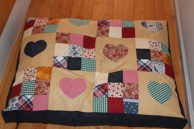 patchwork dog bed | Quilting | Pinterest