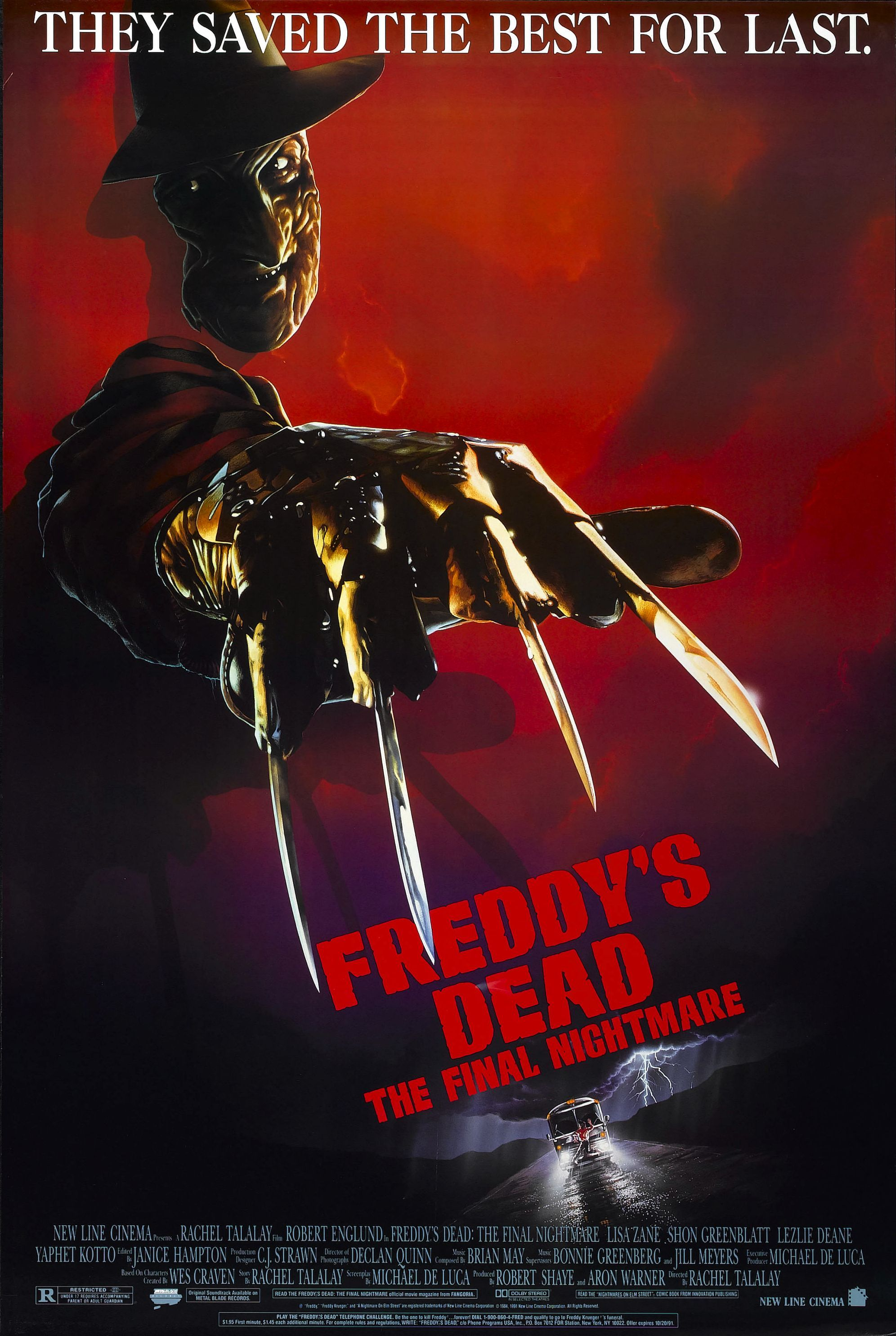 Freddy S Dead The Final Nightmare With Robert Englund And Johnny