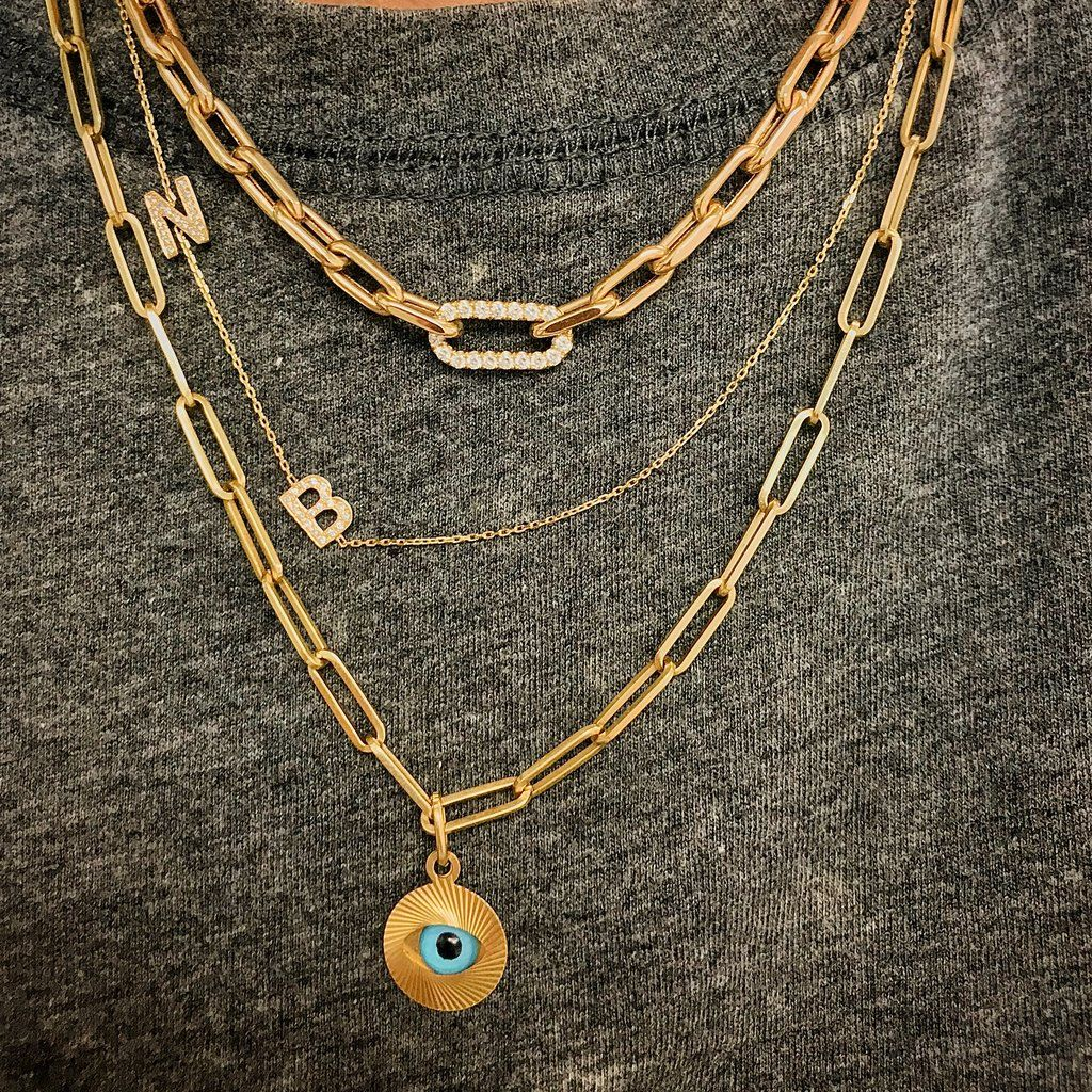 21+ Big letter necklace francescas ideas in 2021