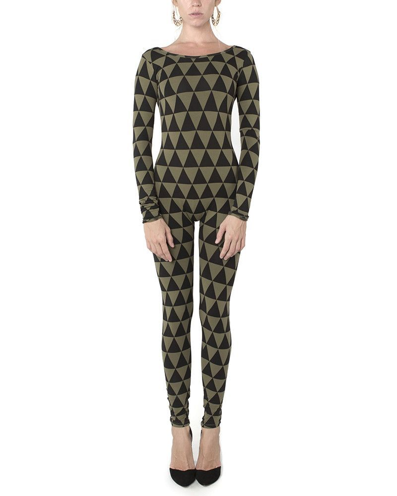 Triangle Catsuit