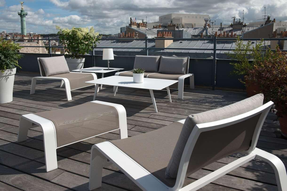 impressionnant salon bas de jardin en aluminium | Décoration ...