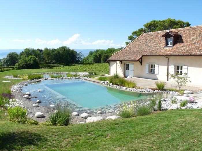 Piscine naturelle en haute savoie water garden piscine piscine bassin et baignade - Camping avec piscine haute savoie ...