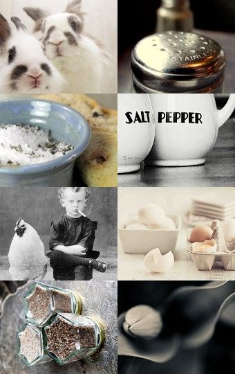 Salt 'n Pepper by Linda Voth on Etsy--Pinned with TreasuryPin.com