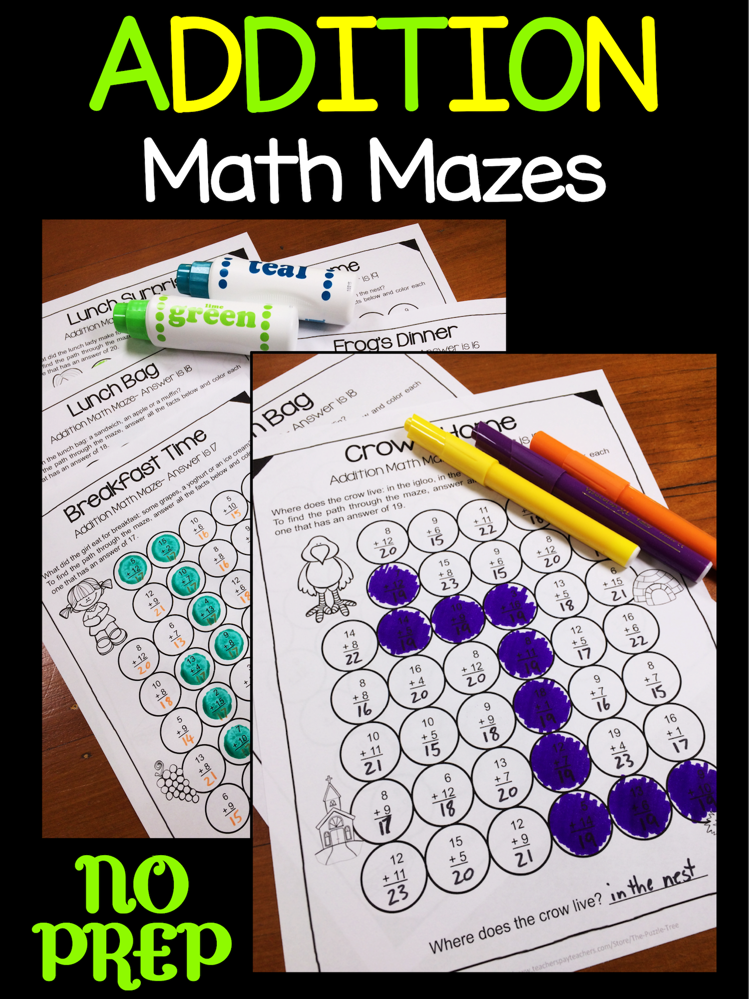 Have Fun With Addition In The Classroom With These