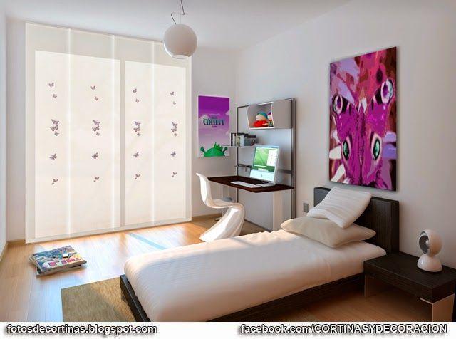 Cortinas para dormitorios fotos de cortinas decoraci n con cortinas fotos y videos moda - Decoracion con paneles ...