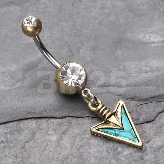 Luxury Surgical Steel Gold Plated Bumble BeeNaval Belly Bar ButtonUK Seller