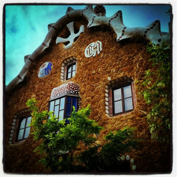 Parc Guell, Gaudi, Barcelona