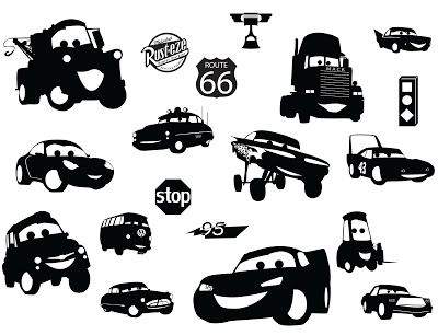 KLDezign SVG Cars I want these made in bright colors placed on ...