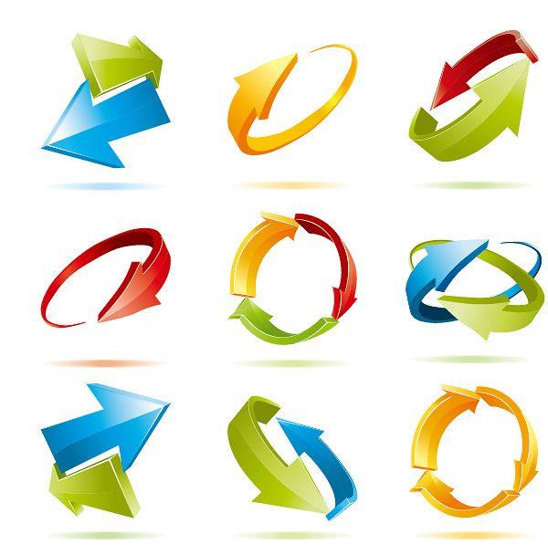 dynamic arrow vector free vectors pinterest arrow icons and logos rh pinterest com arrow vector free png arrow vector free png